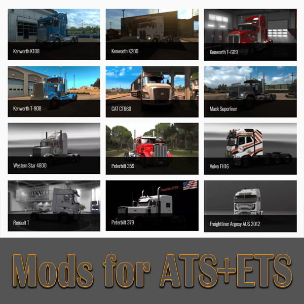 Mods for ATS/ETS2