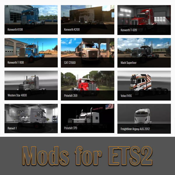 Mods for ETS2